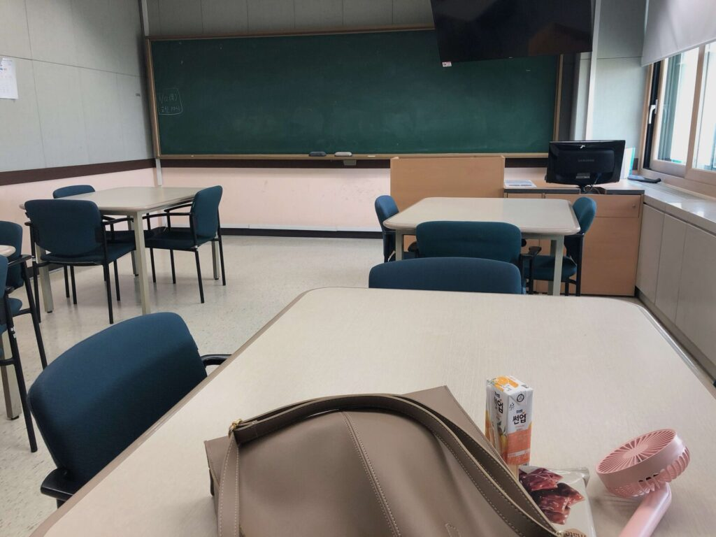 西江大学留学④教室